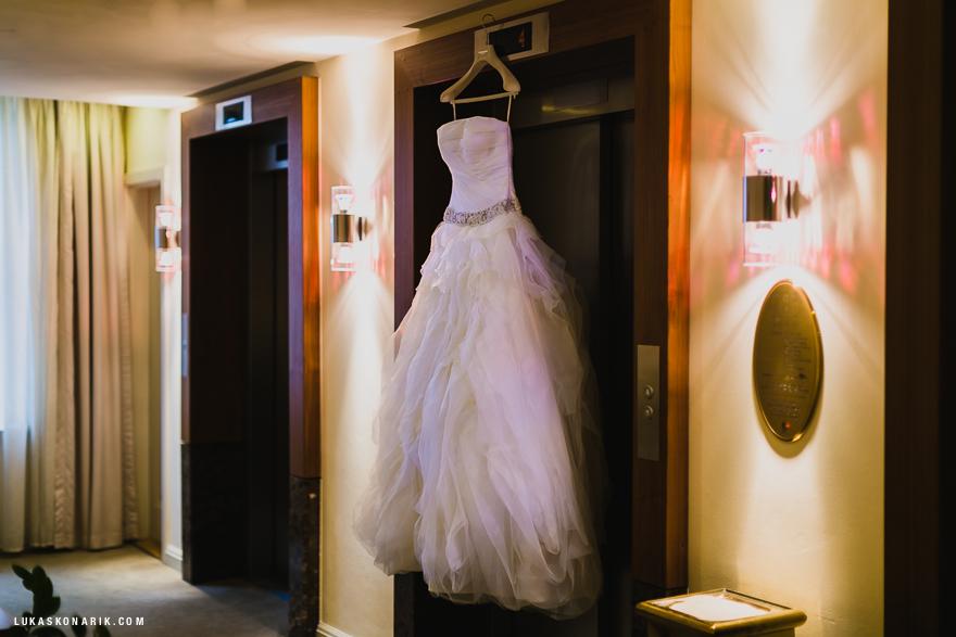 svatební šaty, příprava na svatbu