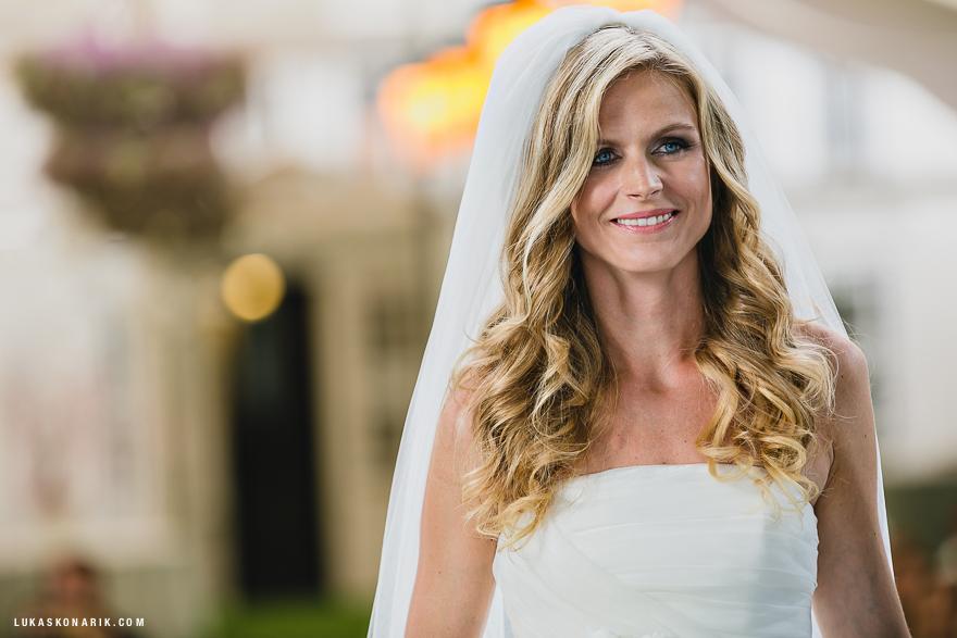 svatba v Praze - nevěsta
