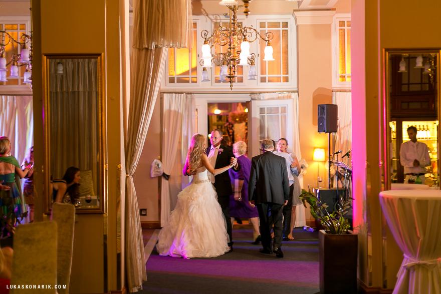 nádherná svatba na Žofíně