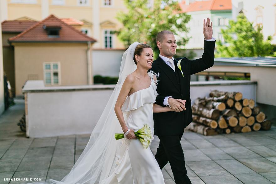 svatební fotografie v hotelu Mandarin Oriental