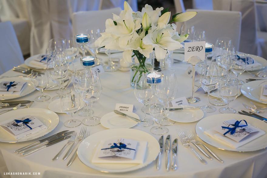 svatební catering v hotelu Mandarin Oriental