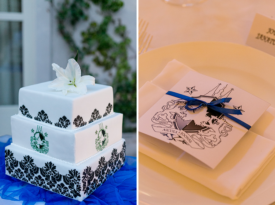 svatbení dort a dekorace v Praze