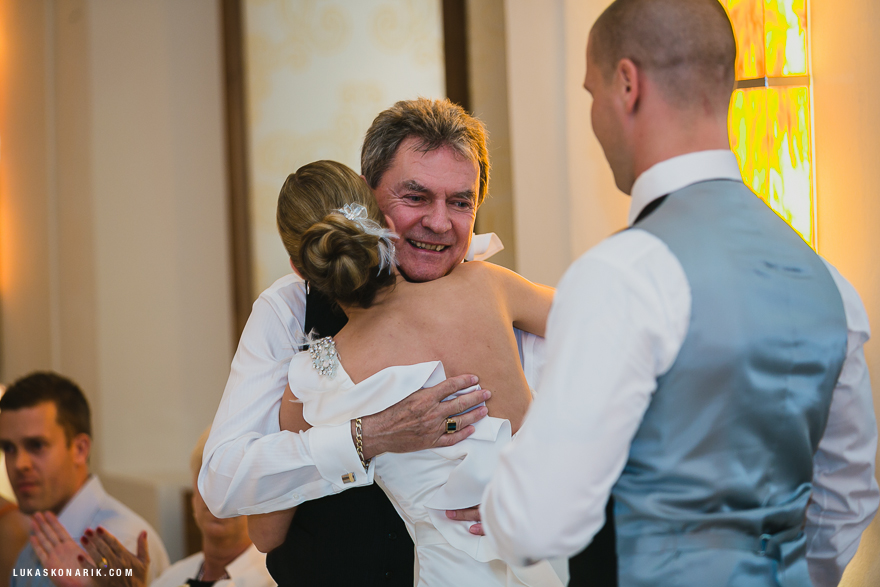 svatební fotografie v hotelu Mandarin Oriental v Praze