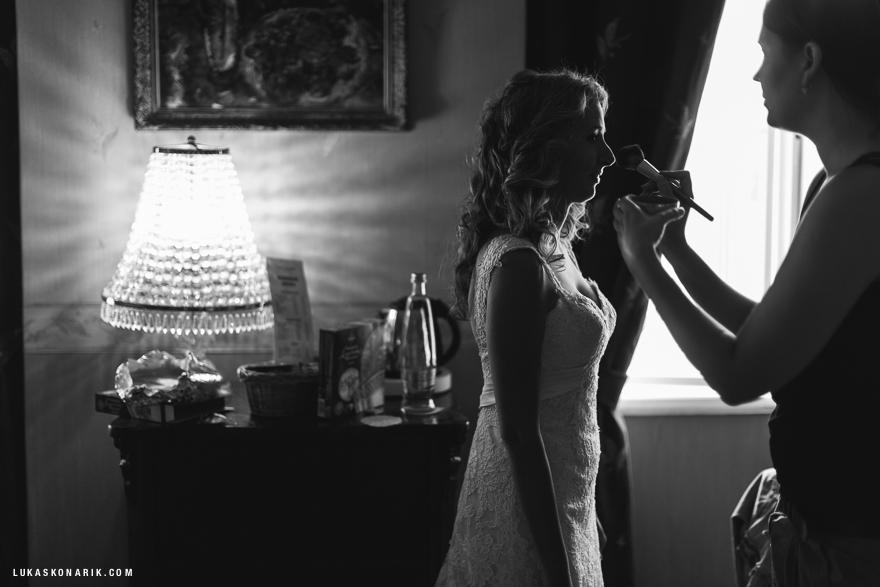 svatba v Praze, příprava nevěsty