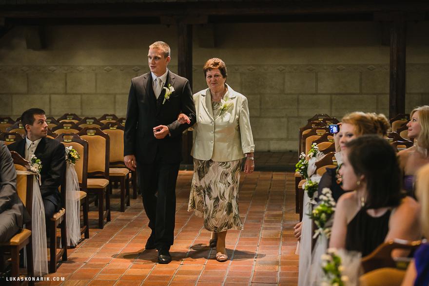 svatba v Betlémské kapli v Praze
