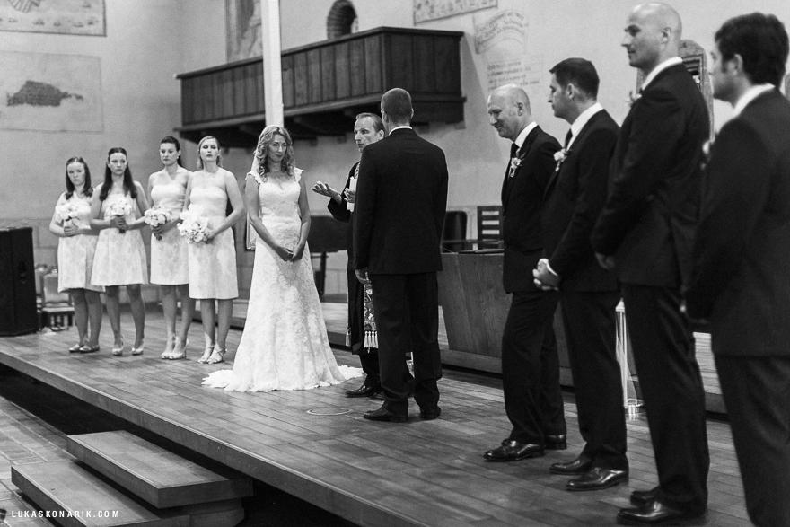 svatební fotografie v Betlémské kapli v Praze
