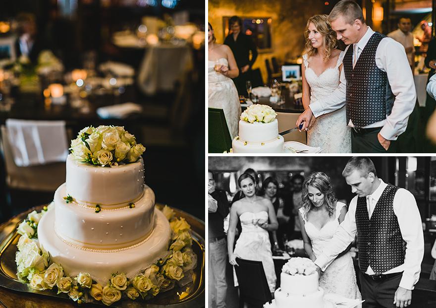 svatební fotografie dortu v Praze hotel Mlýnec