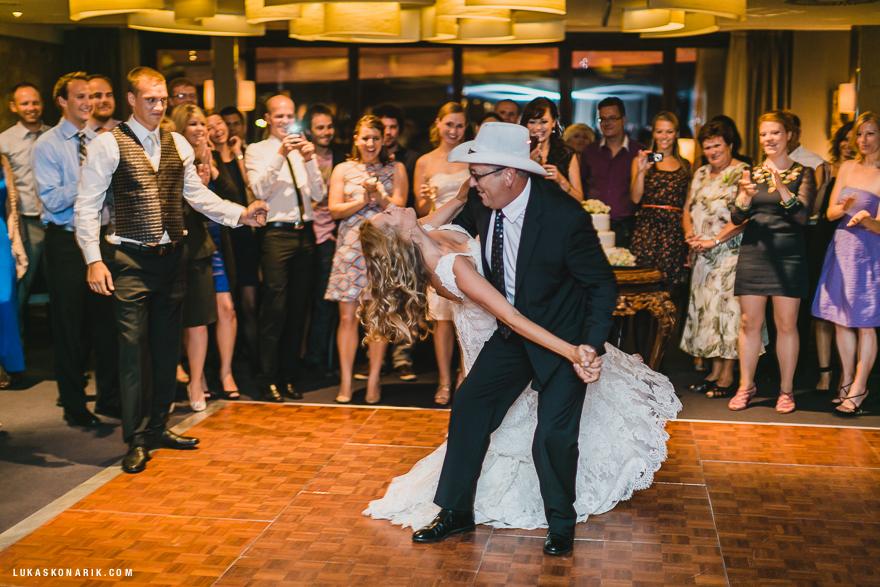 svatba v hotelu Mlýnec, svatební tanec