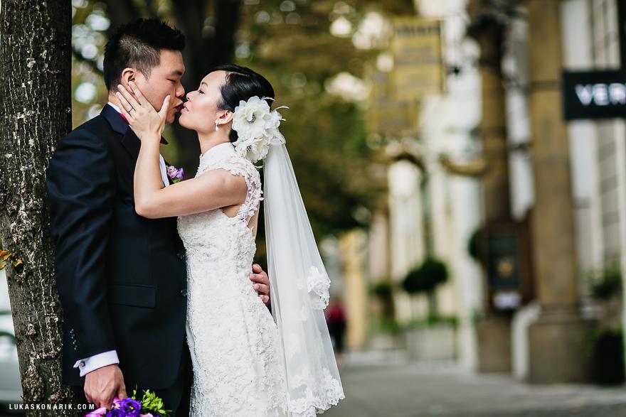 nejlepší svatební fotografie v Praze na Pařížské