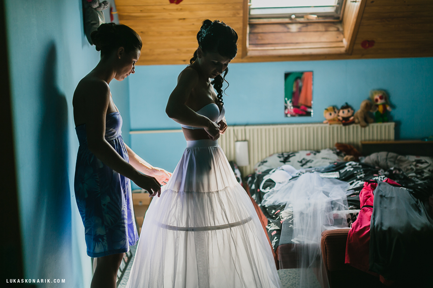 nejlepší svatební fotografie nevěsty