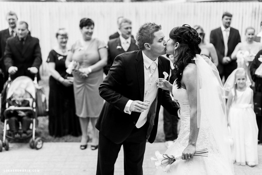 svatba v restuaraci Stará Sladovna