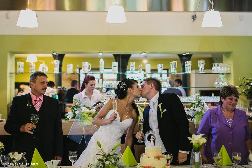 svatba v restauraci Stará Sladovna