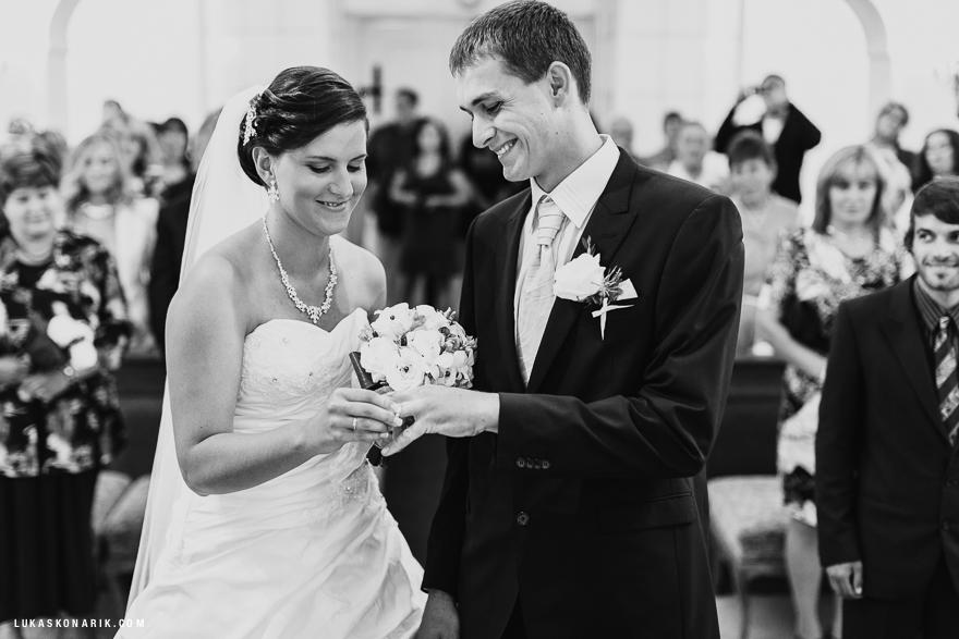 fotografie svatby na zámku Kozel