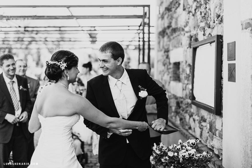 svatební fotografie svatební hostina
