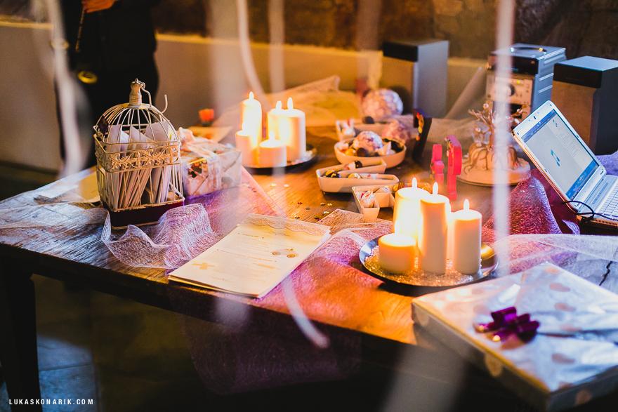 svatební dekorace - insiprace