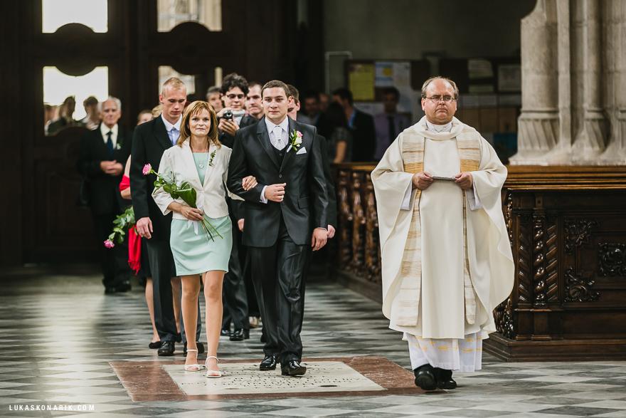 svatba v kostele sv. Jakuba v Brně