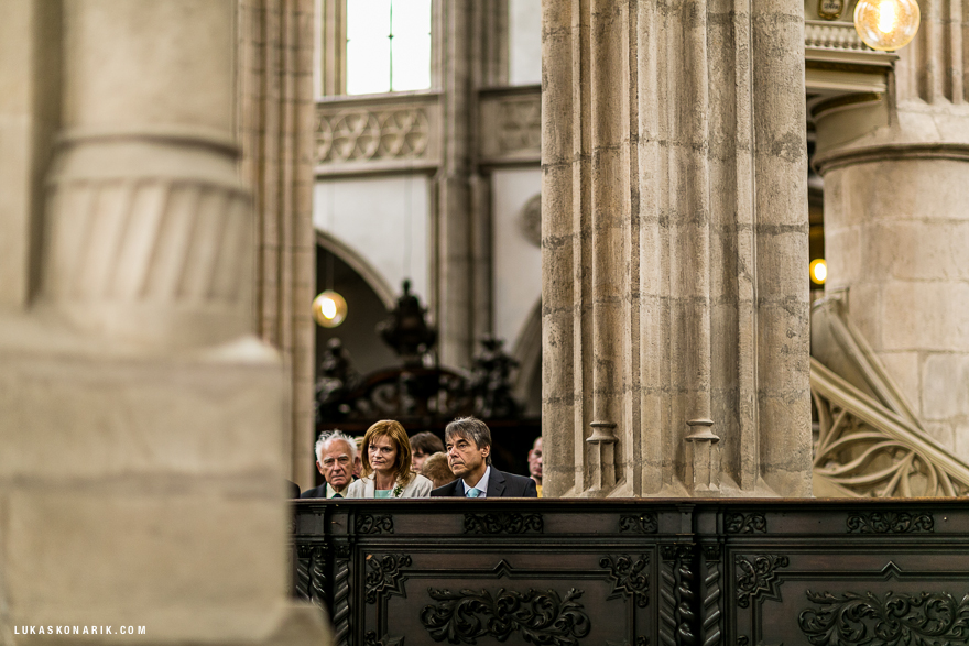 svatba v kostele sv. Jakuba