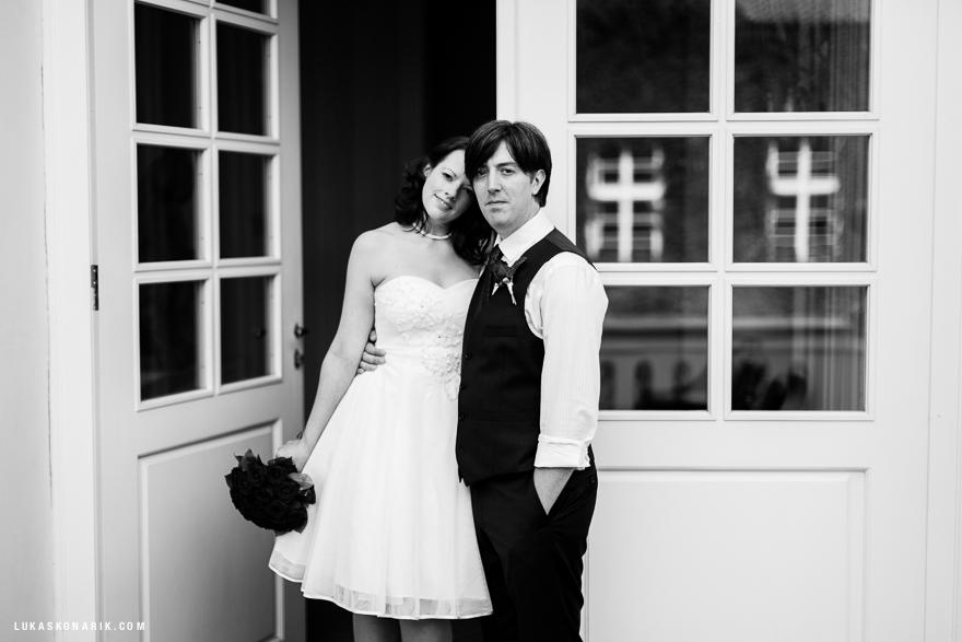 fotografie tajné svatby v Praze