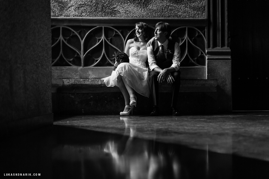 nejhezčí svatební fotografie ve Staroměstské radnici v Praze