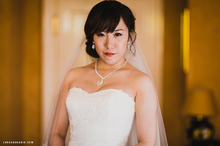 svatební portér nevěsta