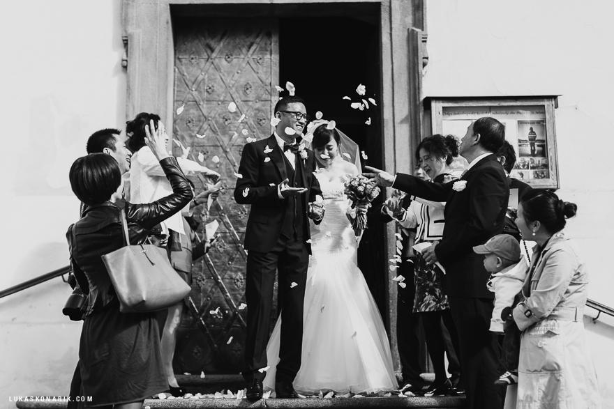 svatba ve Svatém Mikuláši v Praze