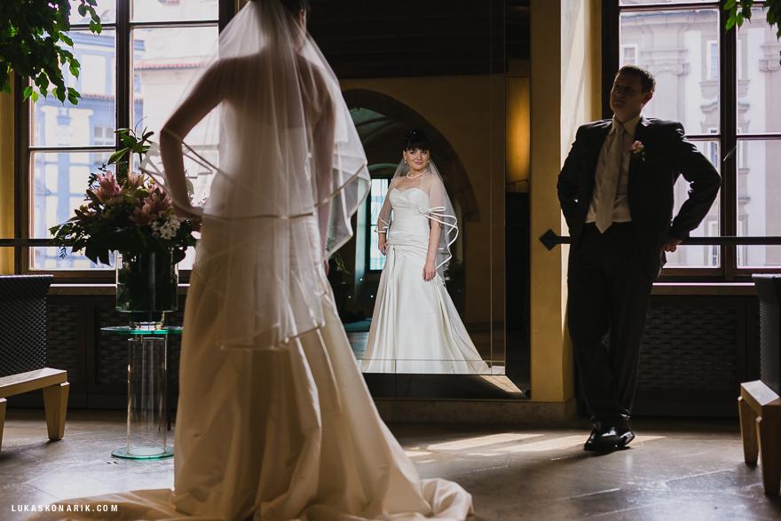 svatba v Praze na Staroměstské radnici