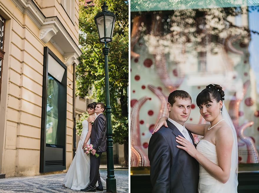 svatební fotogrfie v Pařížšské ulici v Praze