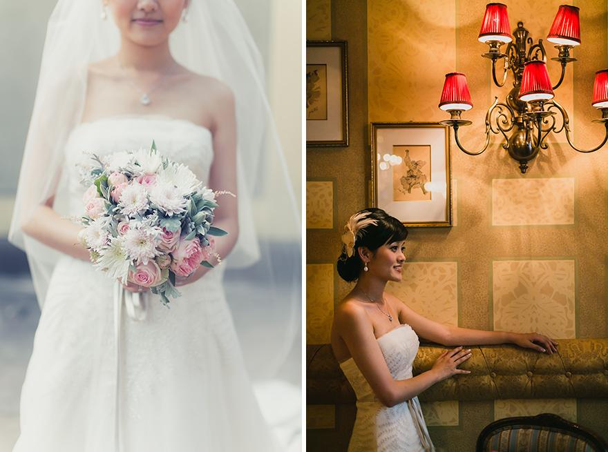 krásná nevěsta v Praze
