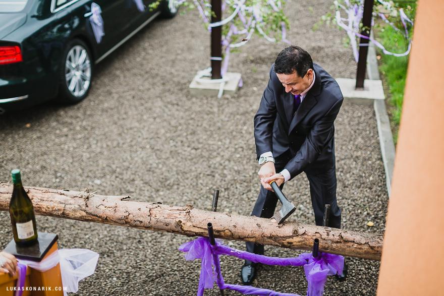 svatební fotografie ženicha, svatební tradice