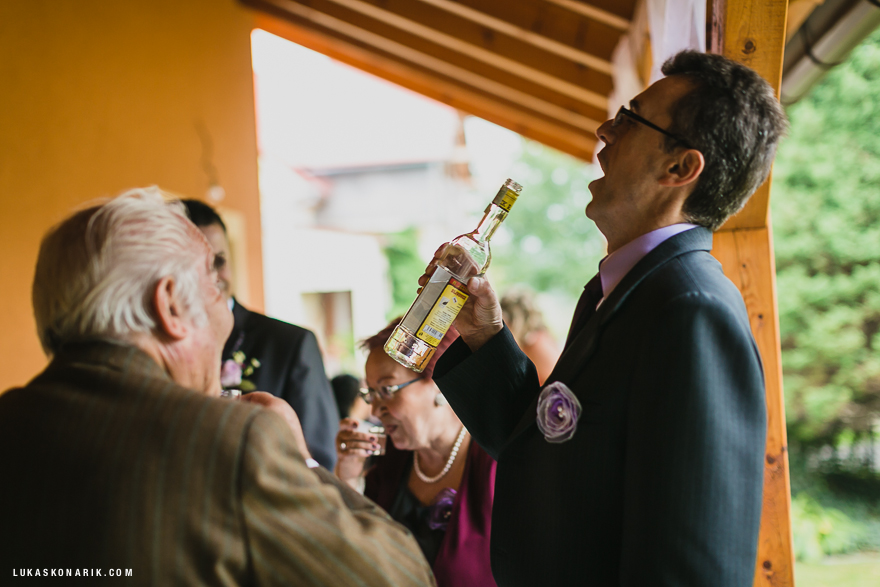 svatební fotografie hostů ve Slezsku