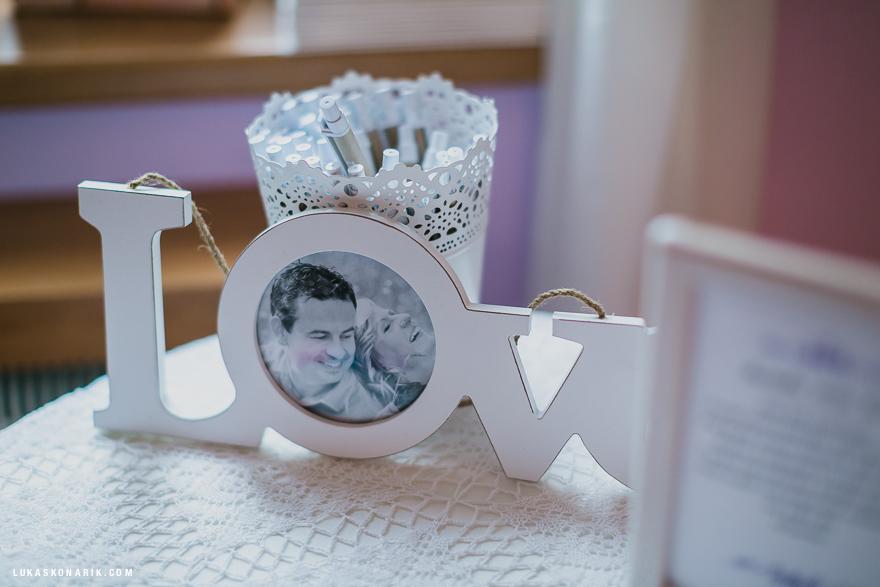 svatební fotografie dekorace