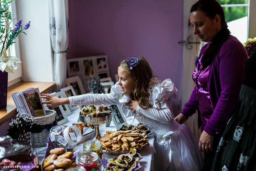 svtební hostina aranžmá