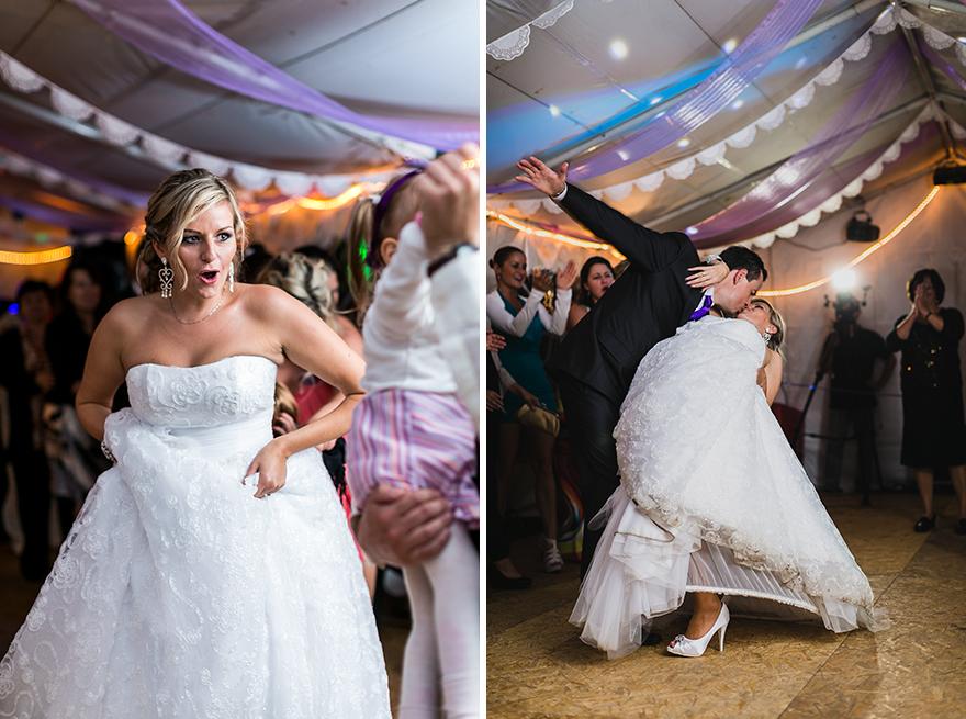 svatební tanec nevěsty a ženicha