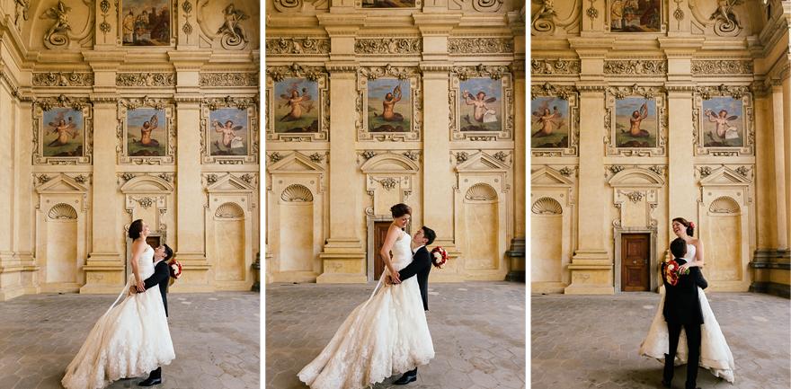 svatební fotografie v okolí Pražského hradu