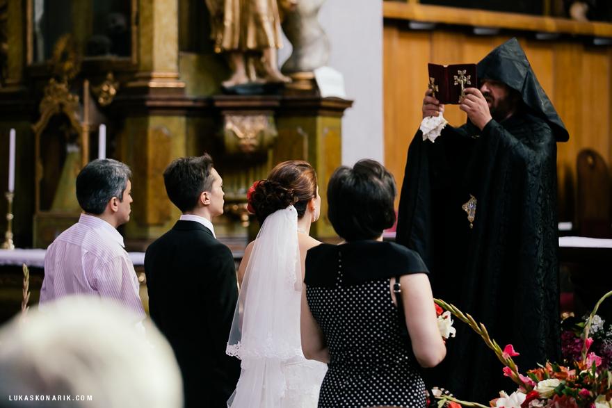 pravoslavná svatba v Praze