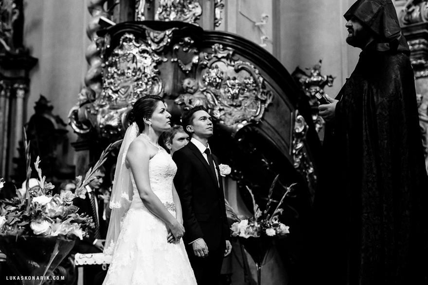 svatba v kostele sv. Jiljí