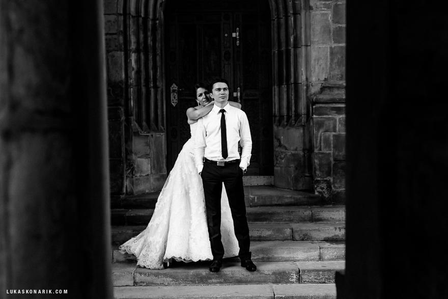 nejlepší svatební fotografie u Pražského hradu