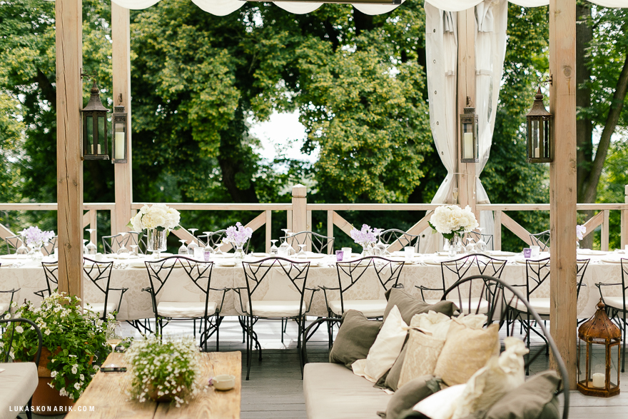 svatba v Chateau Mcely
