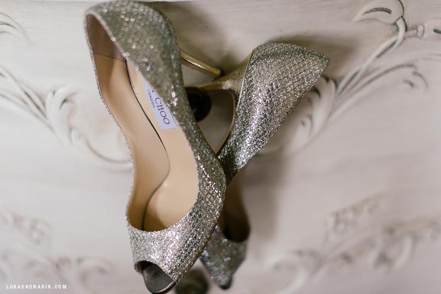 svatební boty Jimmy Choo
