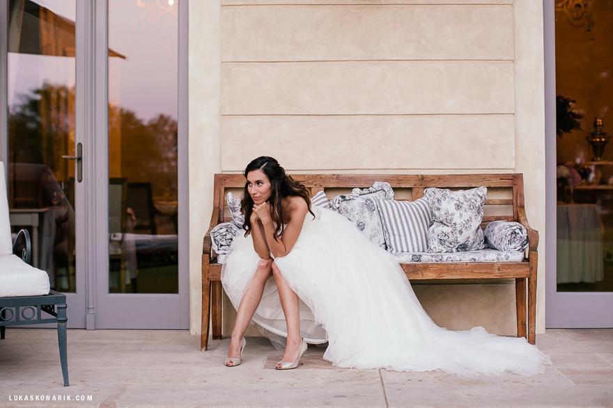 nevěsta na zámku Mcely