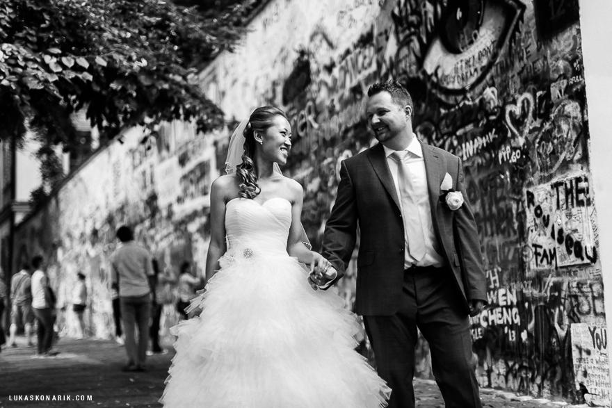 nejlepší svatební fotografie v Praze
