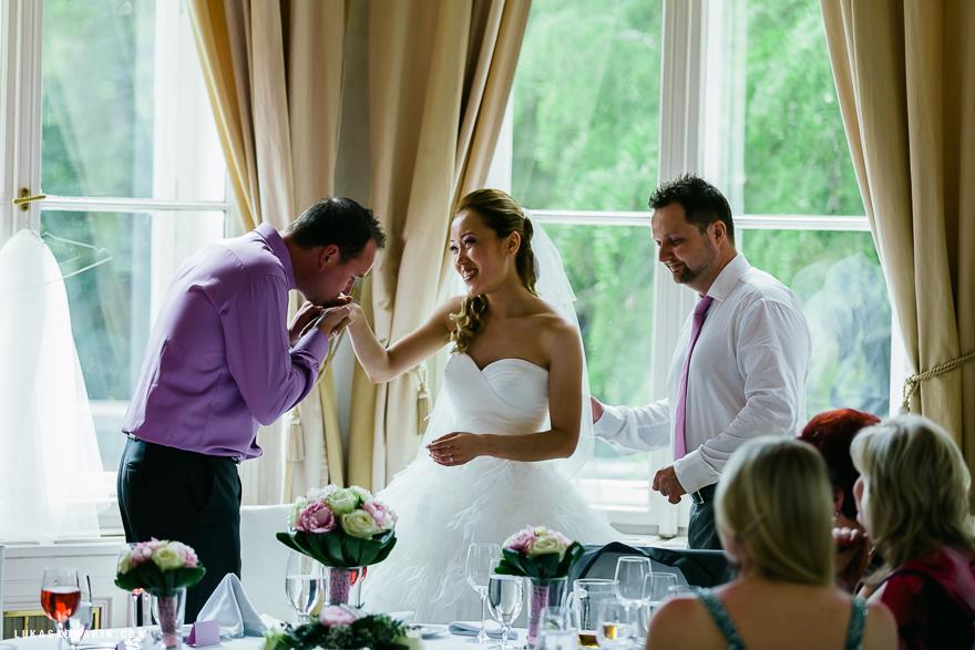 svatba v Letenském zámečku v Praze