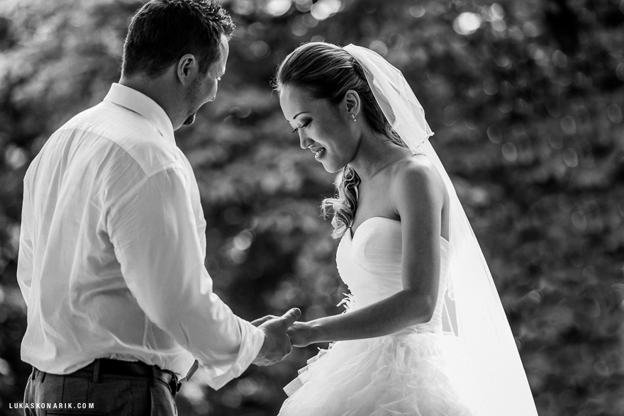 svatební momentky