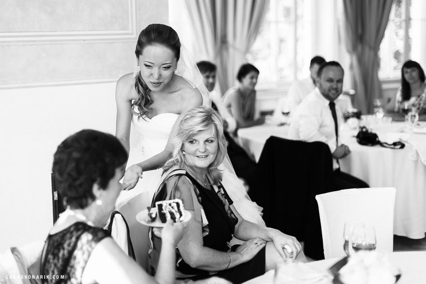 svatba v Letenském zámečku