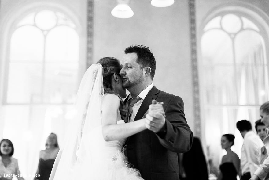 láska a emoce na svatbě
