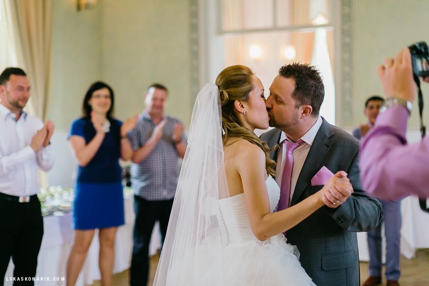 svatební tanec novomanželů