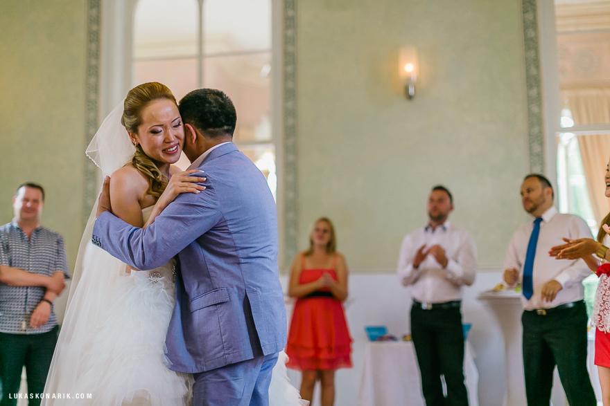 dojemné svatební momenty