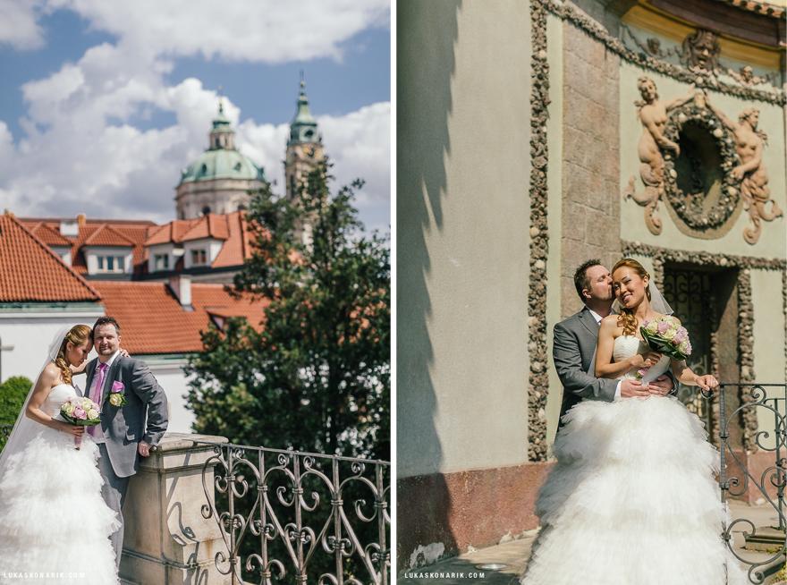 romantické fotografie ve Vrtbovské zahradě